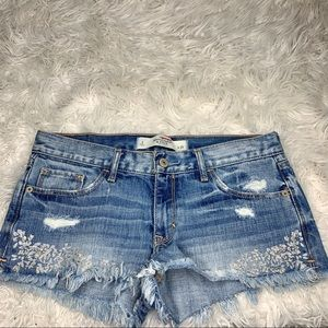 Abercrombie & Fitch | Embellished Shorts